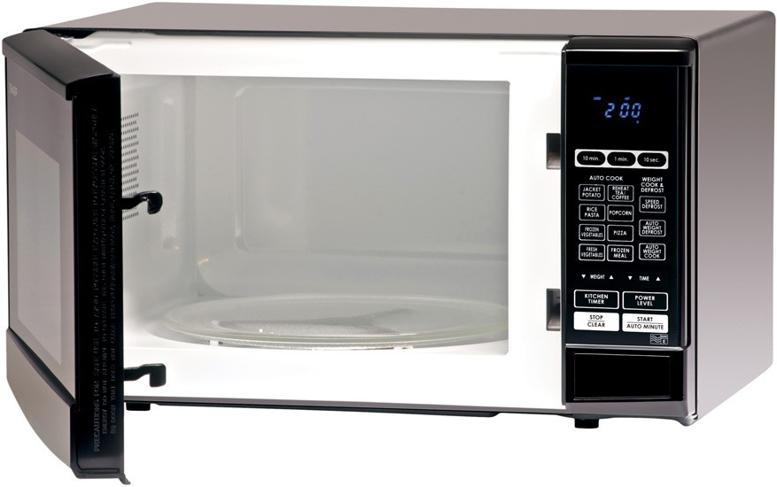 why do most microwaves open from the