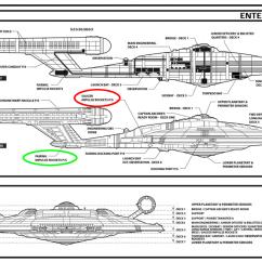 Uss Enterprise Diagram Human Skeleton Worksheet Star Trek What Was The Purpose Of Adding Red Backlights In Enter Image Description Here