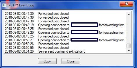 server exit status 0