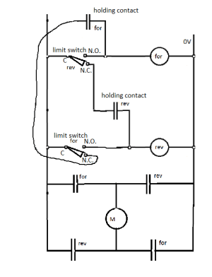switches  Change Direction of 12v DC Motor Rotation using