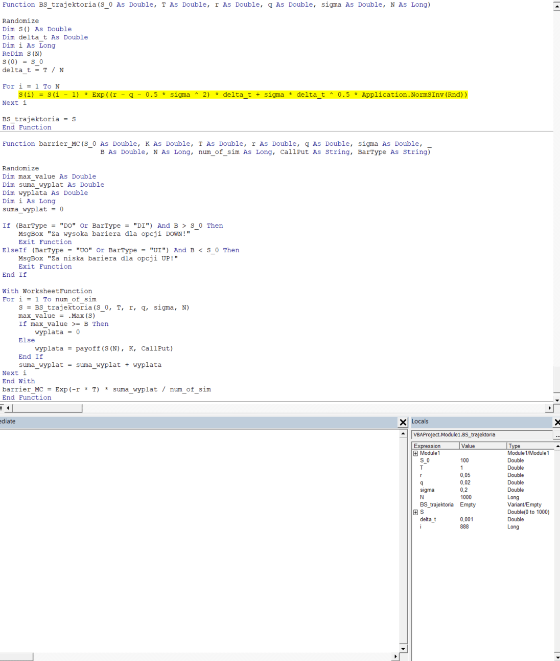 Type Mismatch Error In Vba Where Is The Mistake