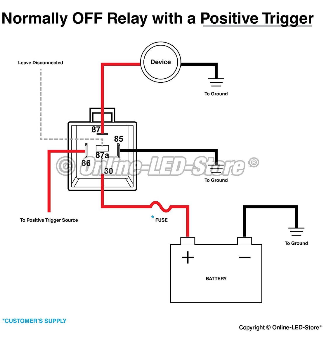 Circuit Diagram Positive Negative. how to create positive