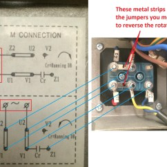 Motor Wiring Diagram U V W Visio Comparison How To Wire Up A Single Phase Electric Blower