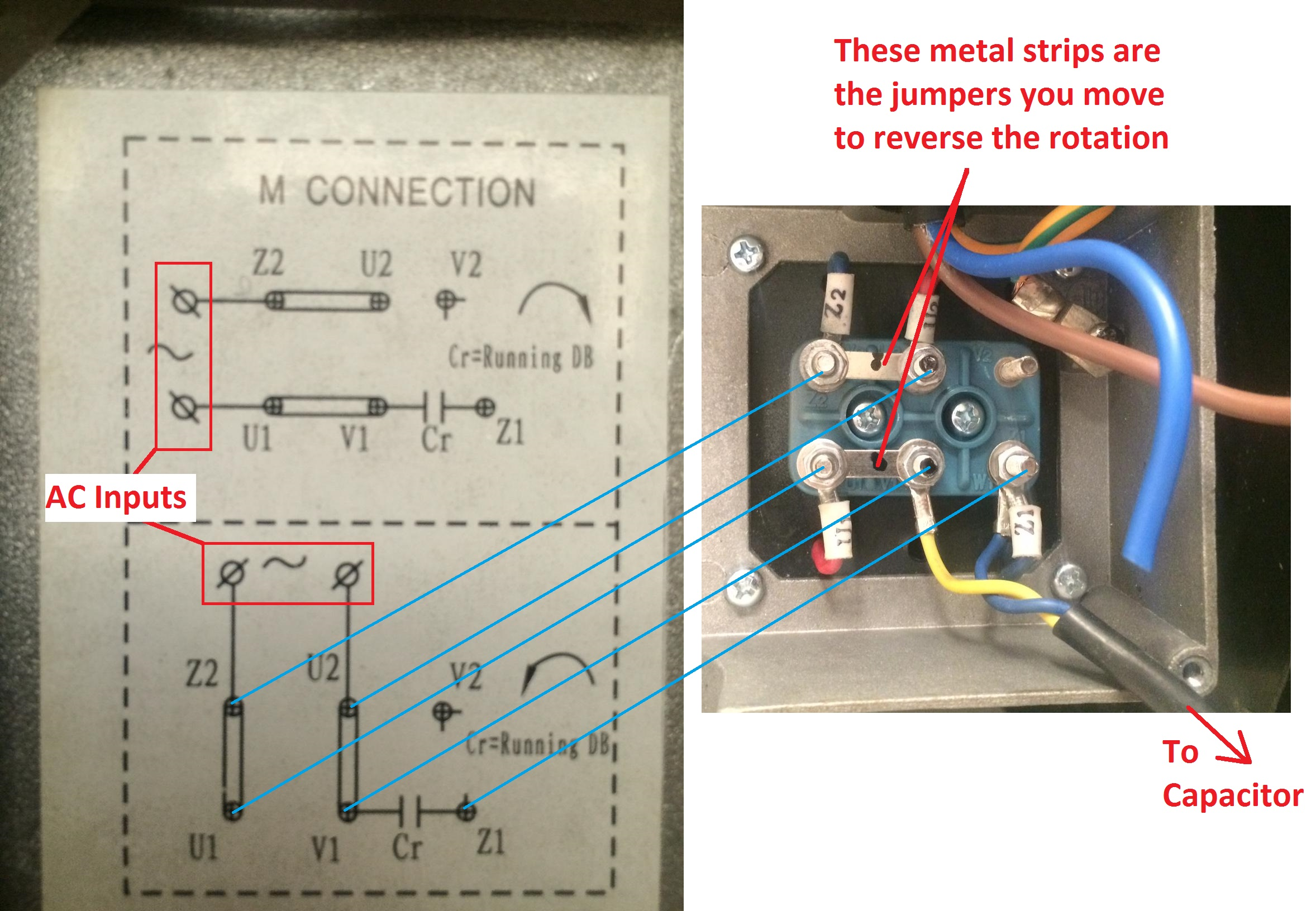 2 hp single phase motor wiring diagram how to wire a pull cord light switch up electric blower