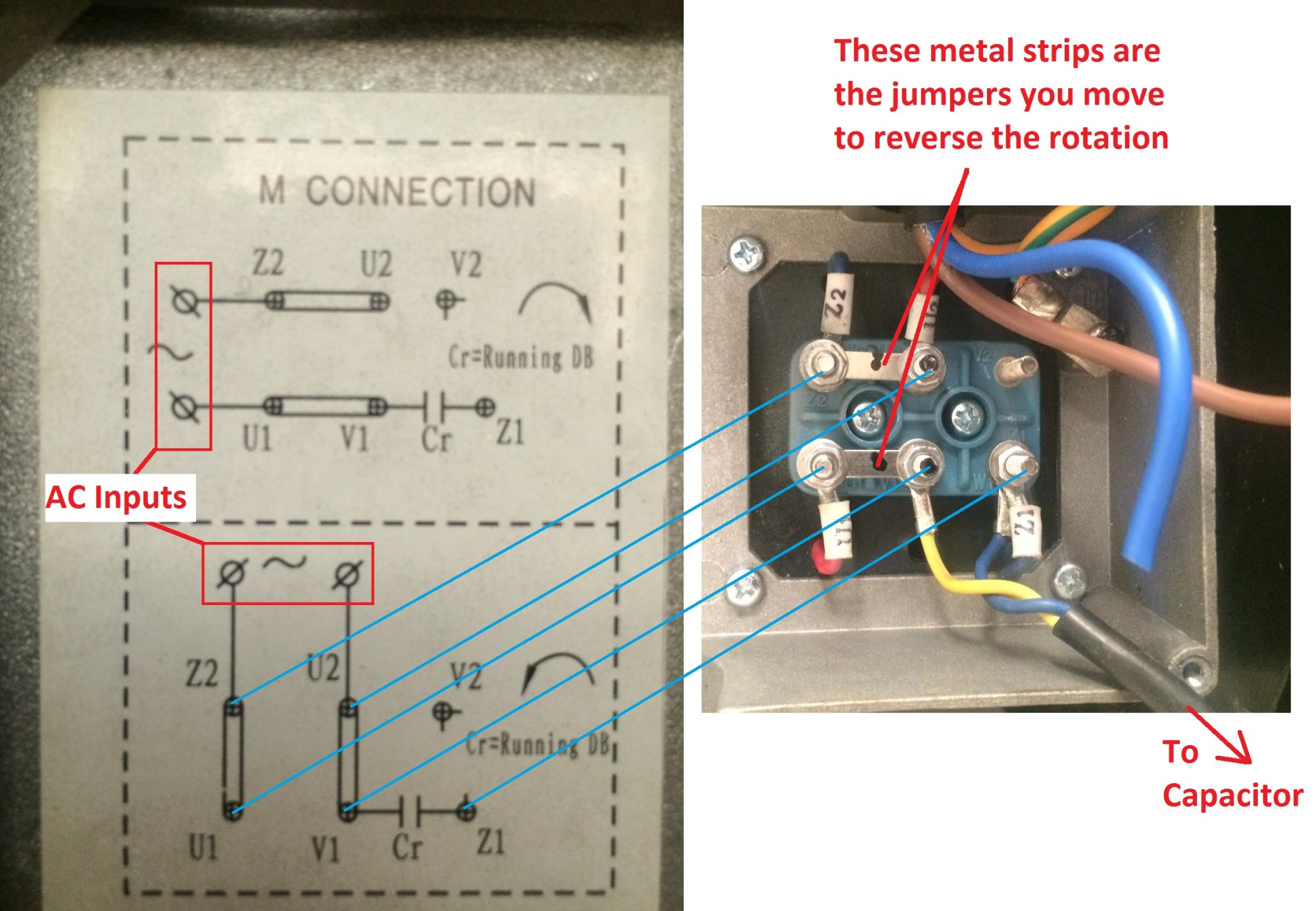 hight resolution of wiring how to wire up a single phase electric blower motor single phase induction motor wiring