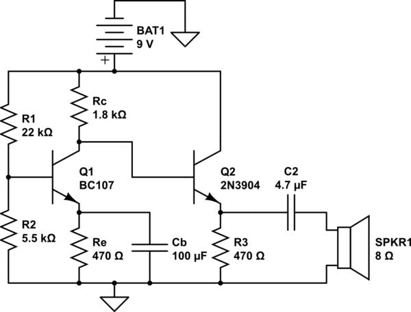 2n3904 amplifier circuit