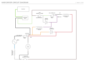 ac  How does a hair dryer change its motor speed? Diagram included  Electrical Engineering