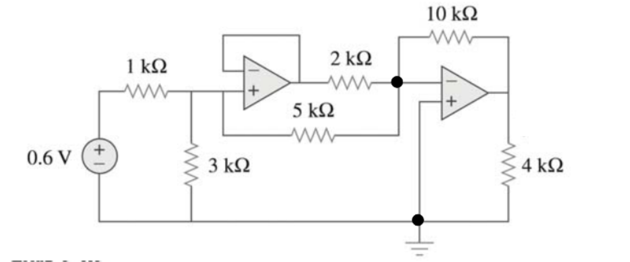 Operational amplifier circuit, but one of Kirchoff laws