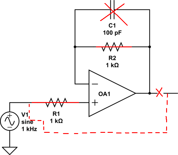 voltage what is the purpose of this op amp electrical engineering