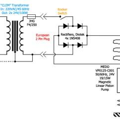 Single Phase Marathon Motor Wiring Diagram Trailer Lights 7 Pin Australia Rectifier - A 24vac Vacuum Pump To 220vac Mains Supply Need Help Electrical ...
