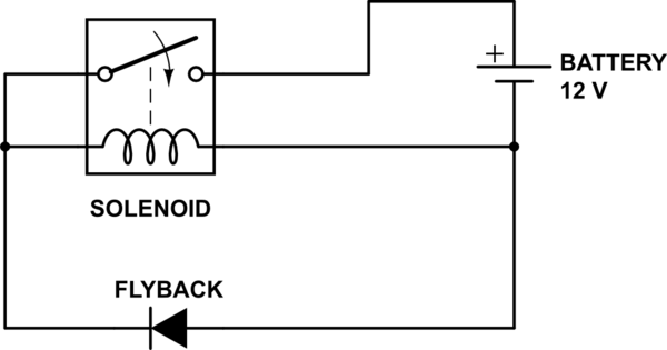 Choosing the right (flyback) diode to stop contacts