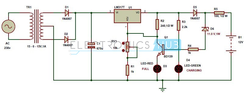 led wiring diagram 9v for 150cc scooter power supply - questions about circuit diagram, lipo charger electrical engineering stack exchange