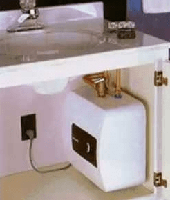 getting hot in kitchen sink only