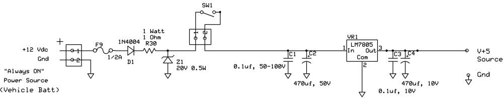 medium resolution of car voltage regulator schematic