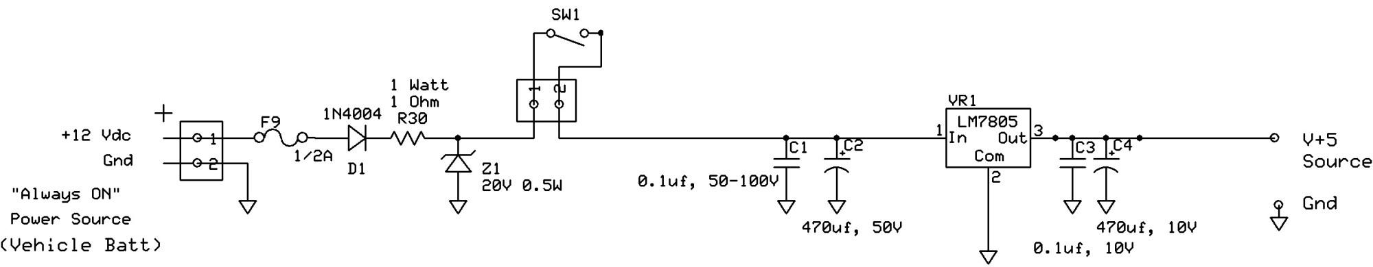 hight resolution of car voltage regulator schematic