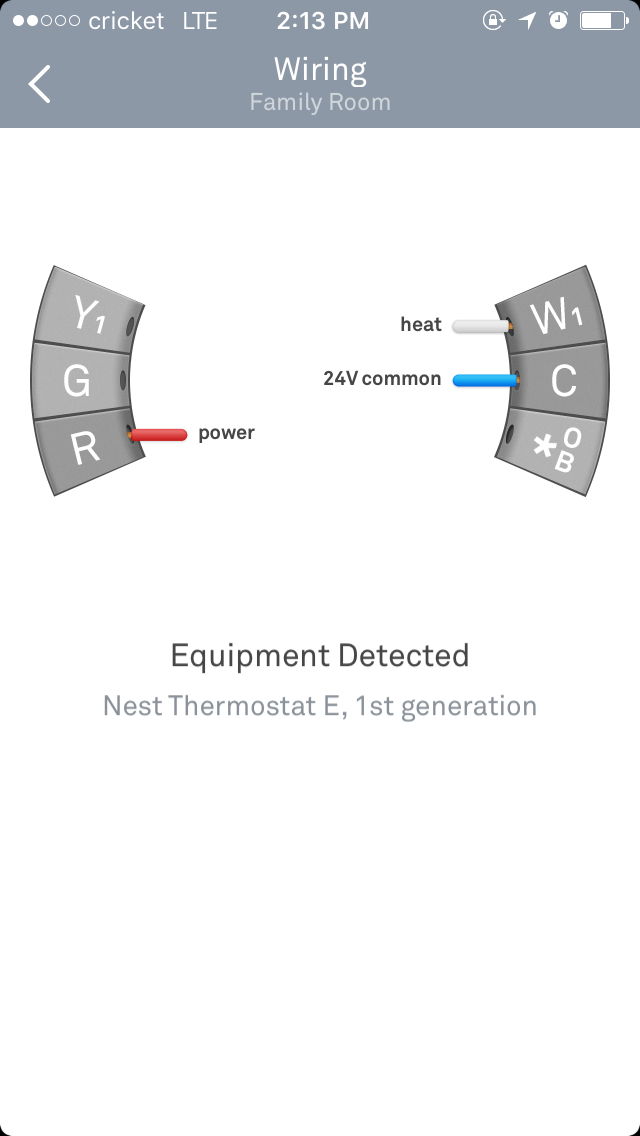 Nest Thermostat Wiring Heat Only