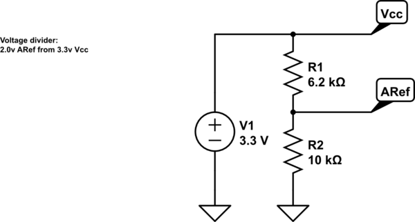 Verify changed analog reference voltage on Arduino