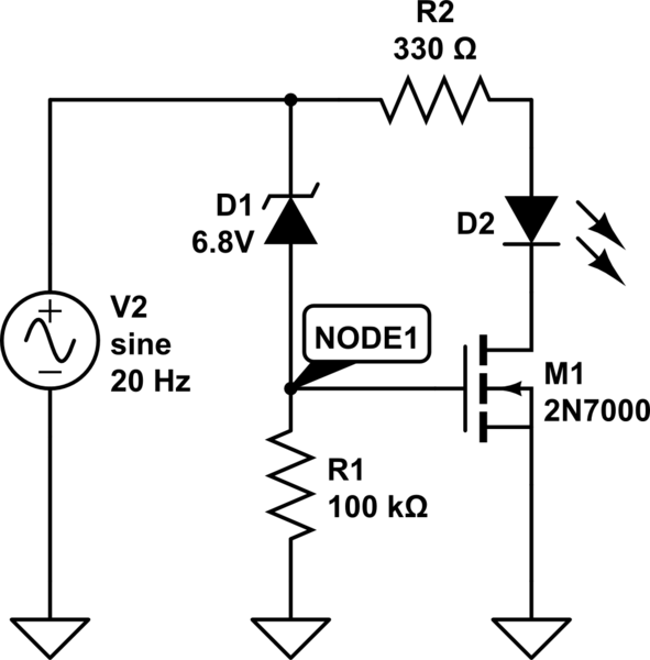 circuitlab zener diode voltage reference