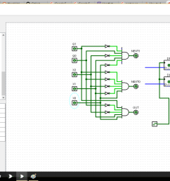 logisim circuit [ 1366 x 768 Pixel ]