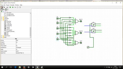 small resolution of  logisim circuit