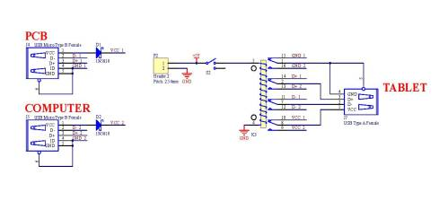 small resolution of schematic circuit sample code of control usb ports