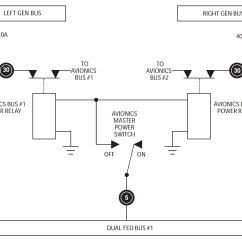 Avionics Wiring Diagrams Super Pro Tach Diagram Why Is The King Air Switching System Wired