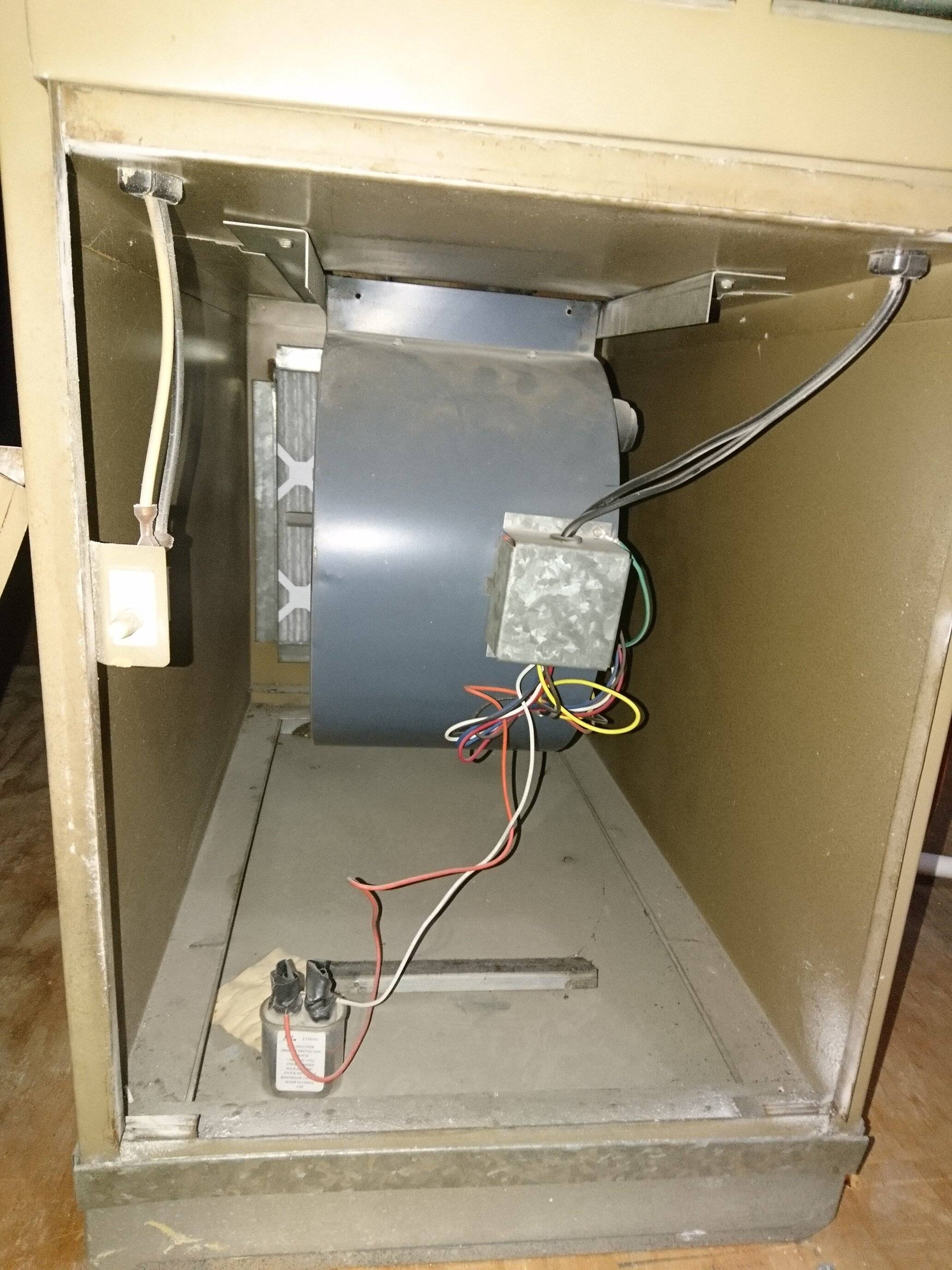 Wiring A Thermostat To A Fan
