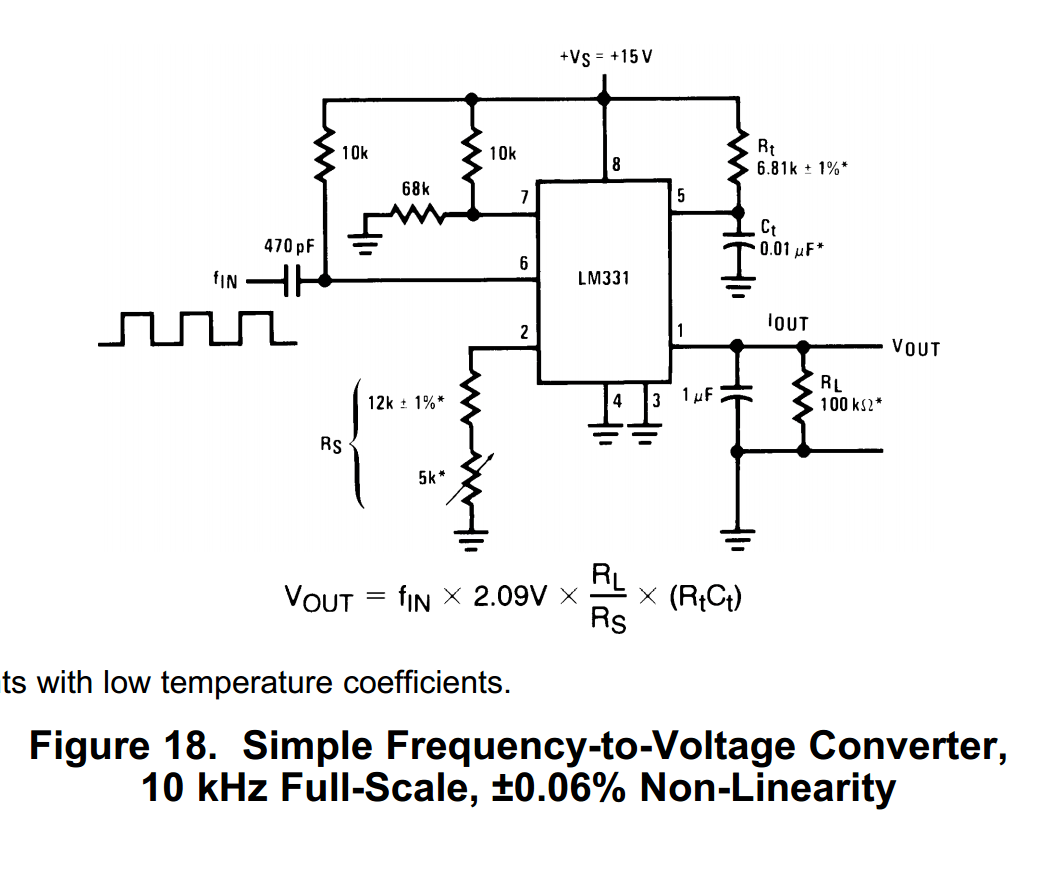 hight resolution of analysis using an lm331 as a frequency to voltage converter how voltage to frequency converter circuit diagram super circuit diagram