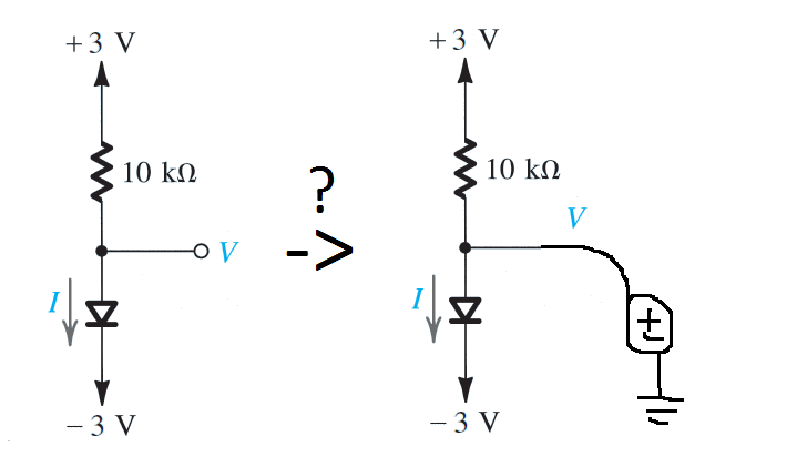 How to interpret this drawing (diode circuit