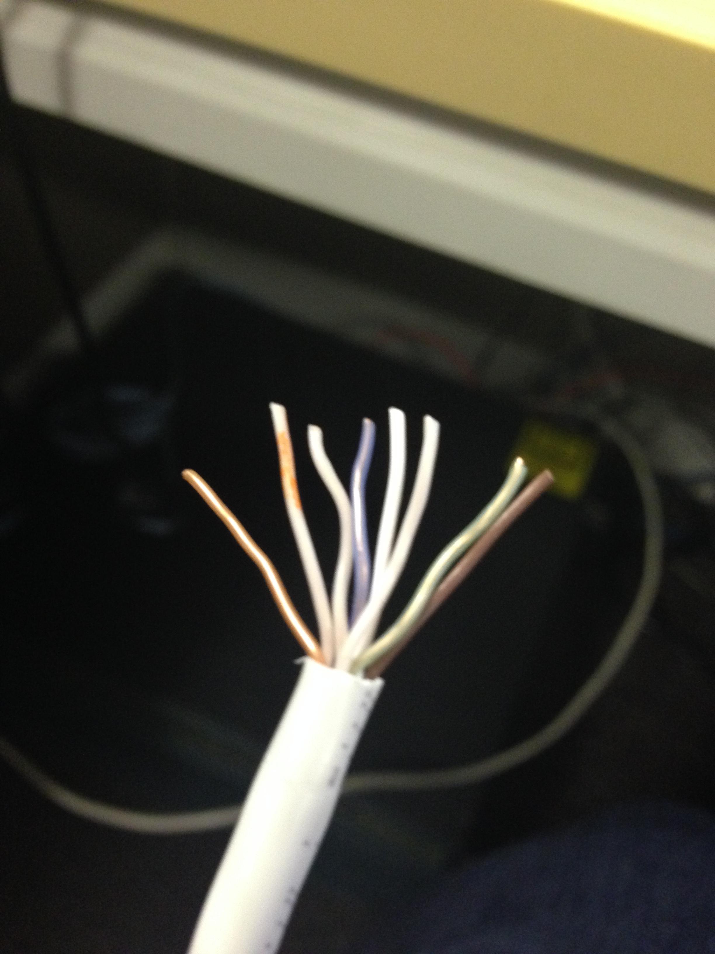 Wiring Cat 5e