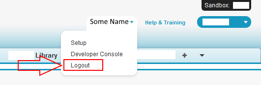 Is it possible to customize the standard Logout link in Salesforce? - Salesforce Stack Exchange
