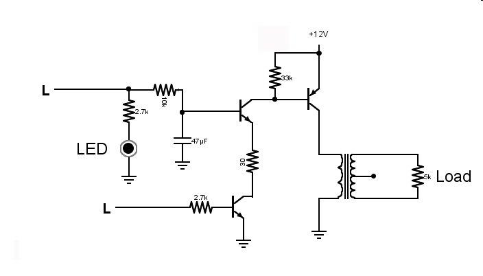 Help understanding microcontroller-to-transformer circuit