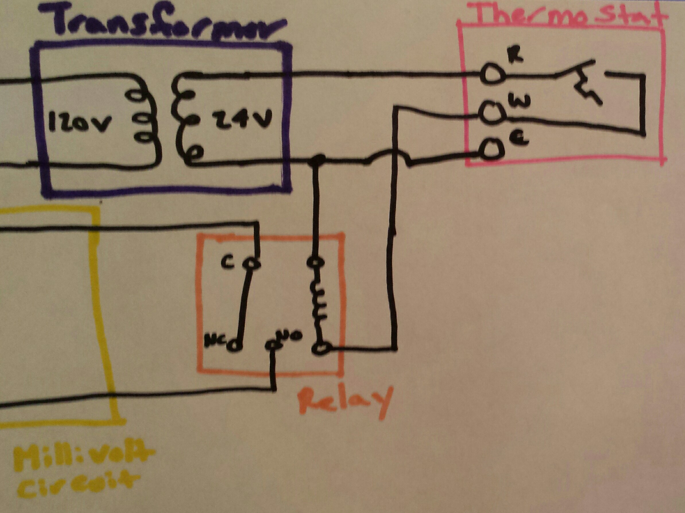 Wire Thermostat Wiring Diagram For Boiler As Well 4 Way Switch Wiring