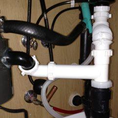 Kitchen Air Gap Knife Brands 如何处理只有一个孔的水槽气隙 答案就在这里 Rats Nest Under The Sink