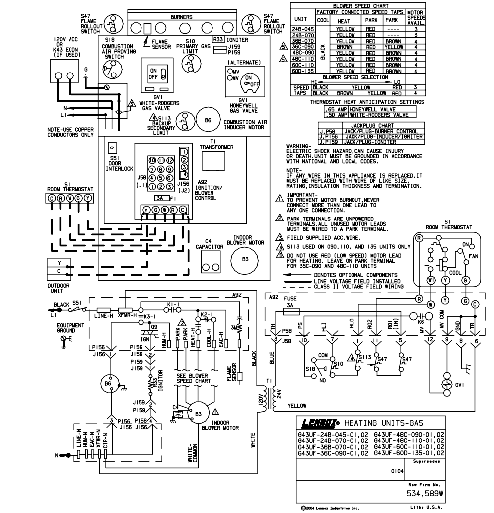 Trane Wiring Diagram Auto Electrical Epiphone Sgg 400 Diagrams E Library