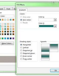 Greyed out also microsoft excel fill effect gradient options super user rh superuser