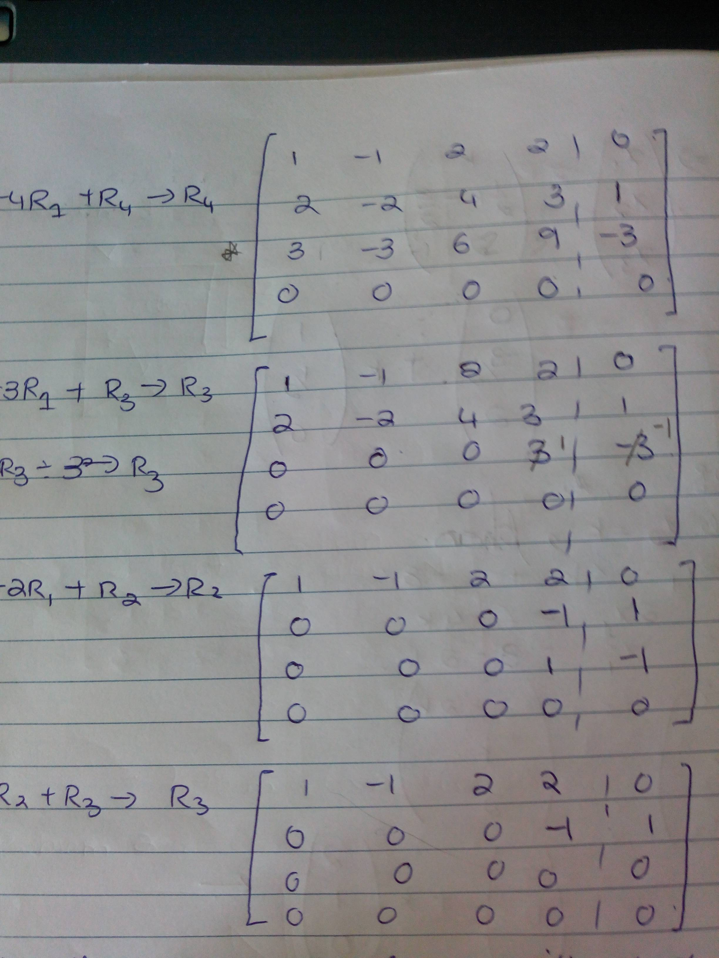 Solving 3 Systems Of Equations Using Matrices