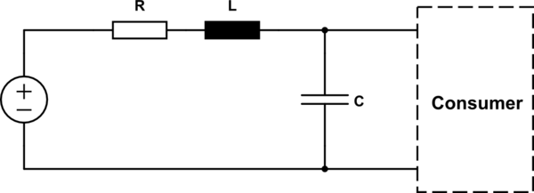 Why would I need a capacitor in front of a LED strip