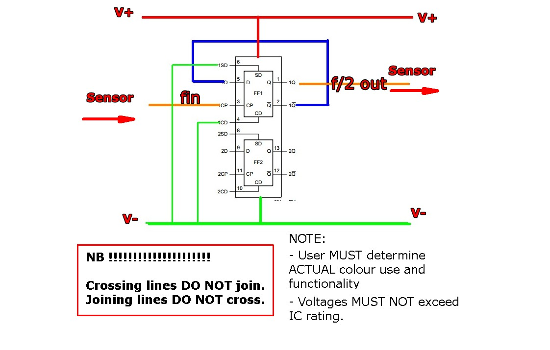 2 wire pressure transducer wiring diagram for lights and outlets remote voltage sensing a threewire advantage schematic how to halve the pulse coming from three speed sensor on source output