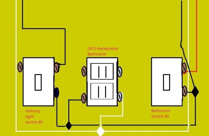 1 switch 2 receptacles wiring diagram  wire hvac diagram
