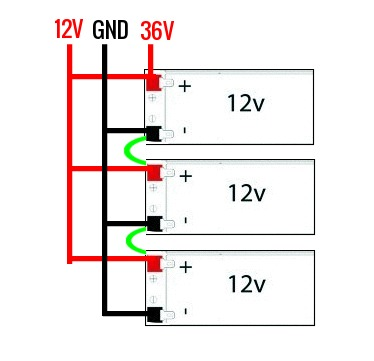 wiring parallel and series simultaneously  electrical