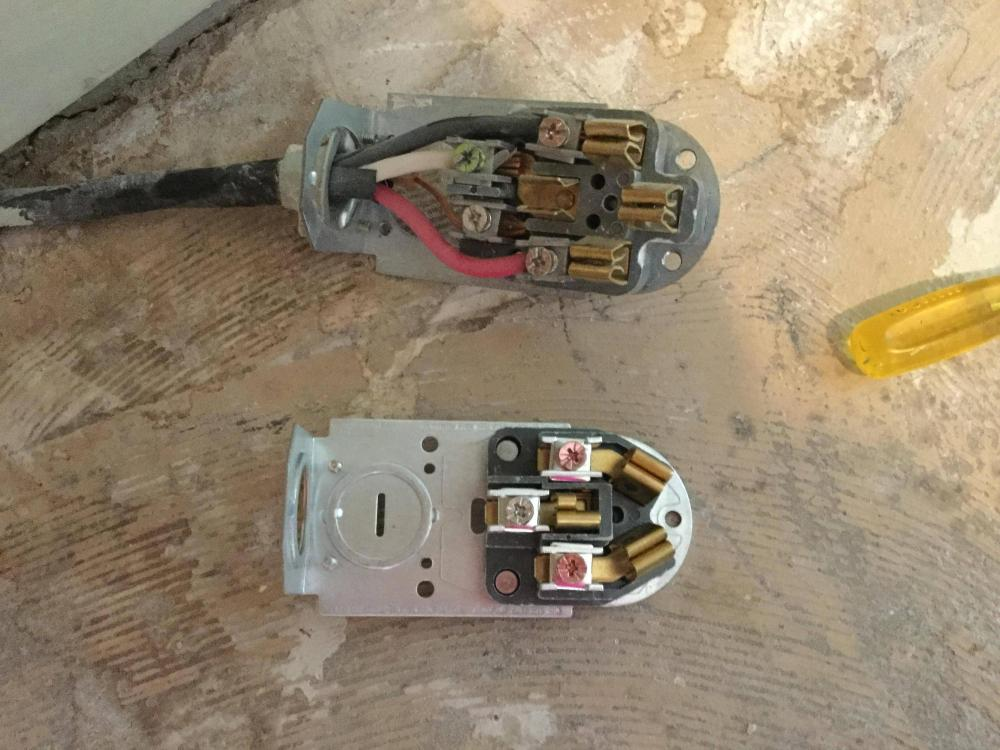 medium resolution of changing a 4 wire electrical cord to a 3 wire electrical cord for a 50 amp plug wiring diagram electric range outlet wiring