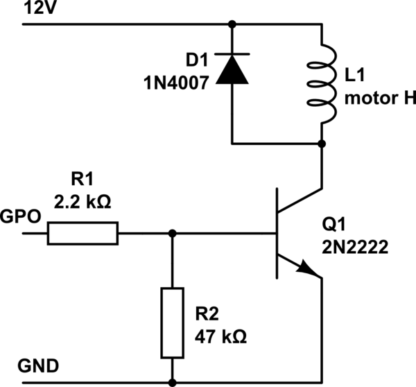Using multiple NPN transistors with resistors from base to