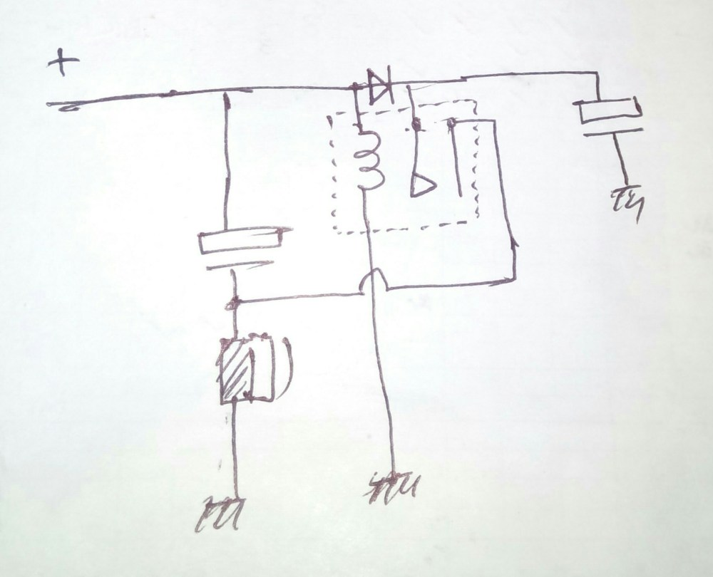 medium resolution of the hand drawn simple schematic explain the buzzer operation as intended