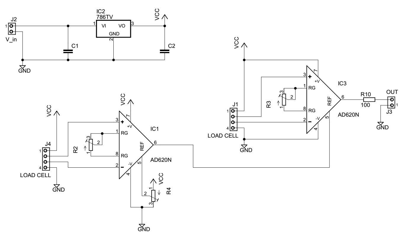 hight resolution of load cell amplifier circuit electrical engineering stack exchange load cell amp schematic schematic design