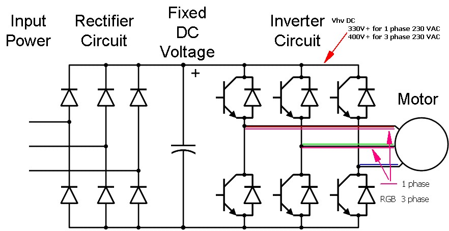 3 Phase Inverter Circuit Diagram : 32 Wiring Diagram