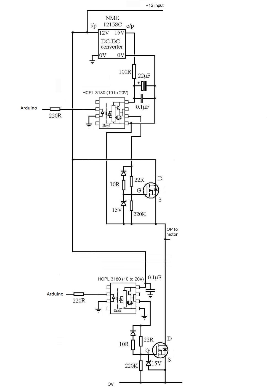 medium resolution of h bridge design understanding