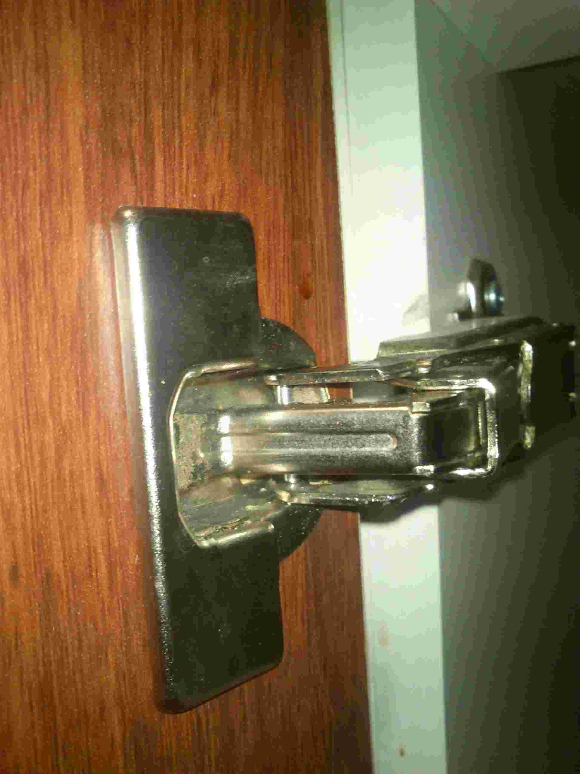 changing hinges on kitchen cabinets white modern how can i replace a cabinet hinge with no visible