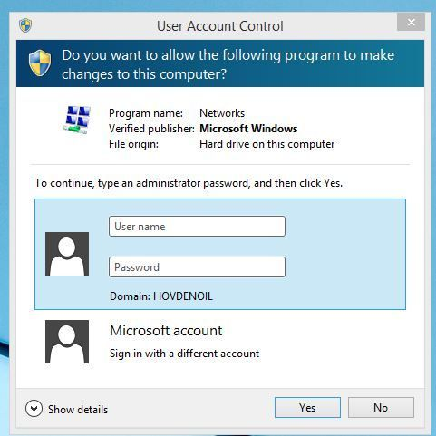 Windows 81 User Account Control Keeps Popping Up
