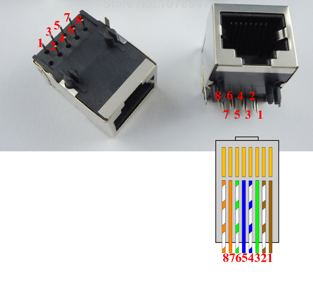 Rj45 Cable Pinout Electrical Electronic Technology